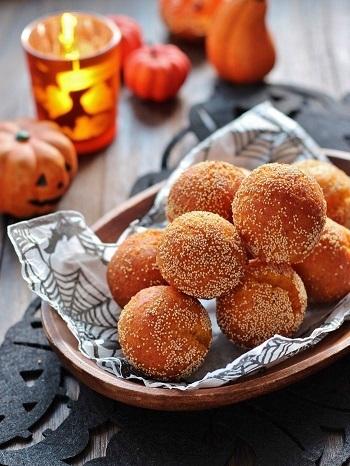 ポピーシードのかぼちゃドーナッツ
