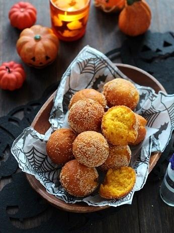 ポピーシードのかぼちゃドーナッツ1