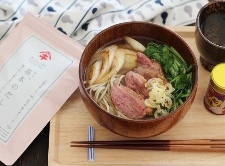 鴨とセリの蕎麦3