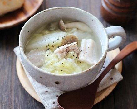 塩豚スープ