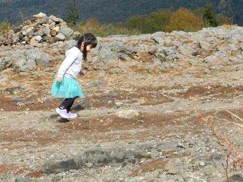 望岳台にて