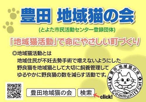 豊田地域猫の会1