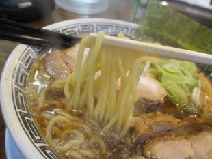 亜門 背脂ラーメン 麺