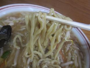 関屋福来亭 萌ヤシラーメン 麺