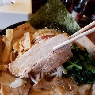 肉バカ弁天 チャーシュー麺 チャーシュー