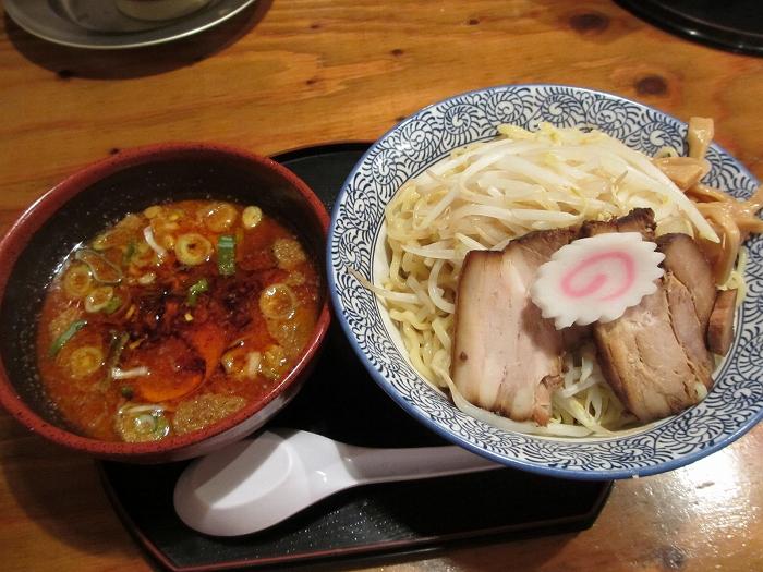 満月安田 辛つけ麺
