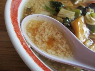 関屋福来亭 五目旨煮ラーメン スープ