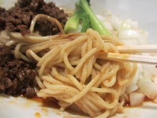 ふじの新津 裏担々そば 麺 (2)