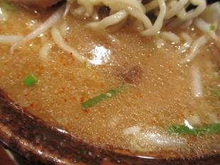 満月安田 辛味噌ラーメン スープ