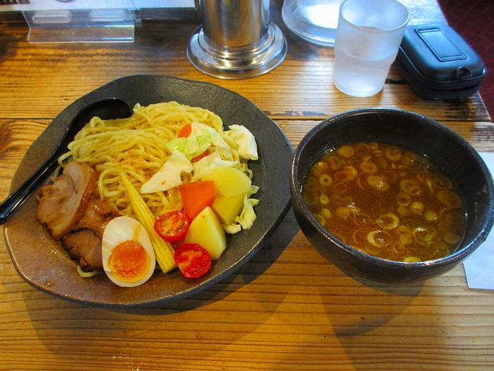 孔明長潟 カレーツケ麺