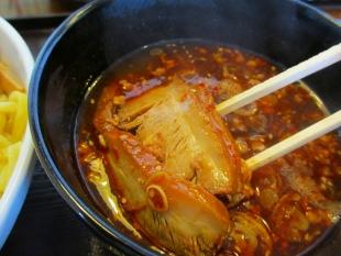 幸 辛つけ麺 具 (2)