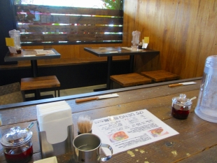 175°DENO担々麺 担々麺汁あり 店内