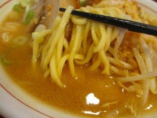 ジョー 味噌ラーメン 麺スープ