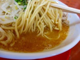拳流 味噌中華ソバ 麺スープ