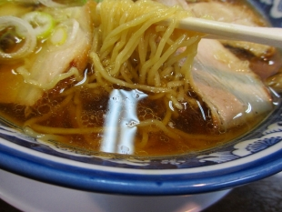 西のあんまる ラーメン 麺スープ