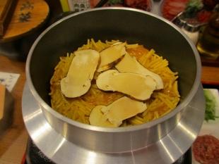 豚シャモジ 松茸釜麺 (3)