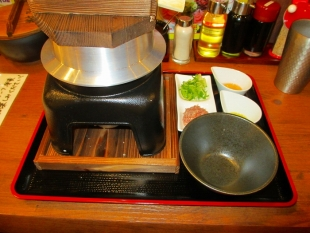 豚シャモジ 松茸釜麺