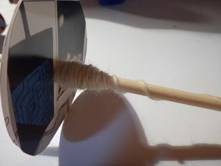 改善お箸スピンドルで紡ぐ