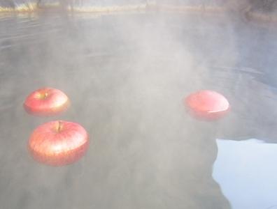浮ぶりんご