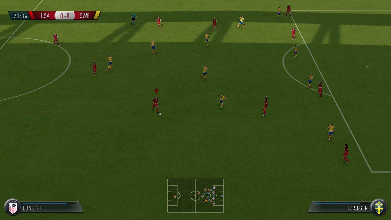 FIFA18awitchテレビ放送