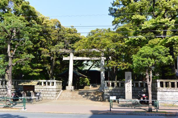 大井鹿島神社①