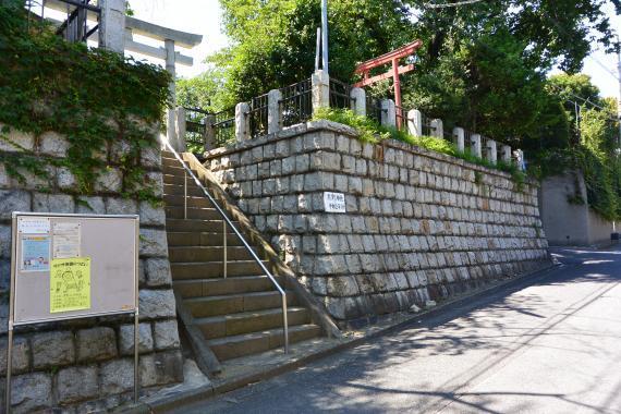 中井谷熊野神社①