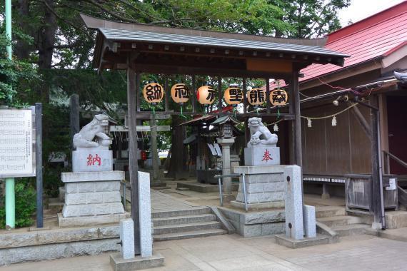 田茂井熊野神社②