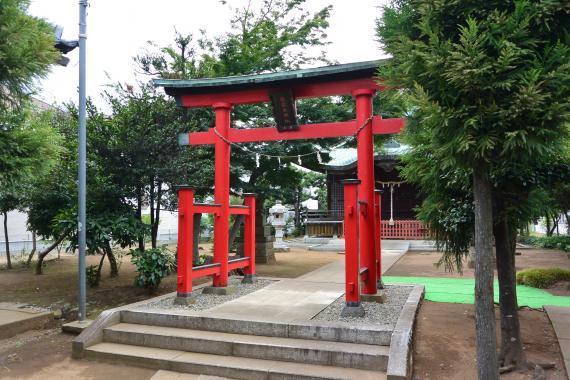 向小金香取神社⑥