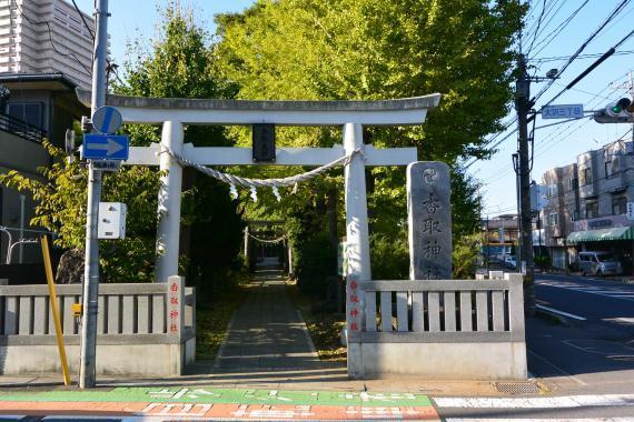 大沢香取神社①