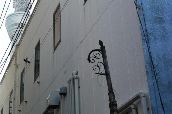 押上三丁目レトロ電柱⑤
