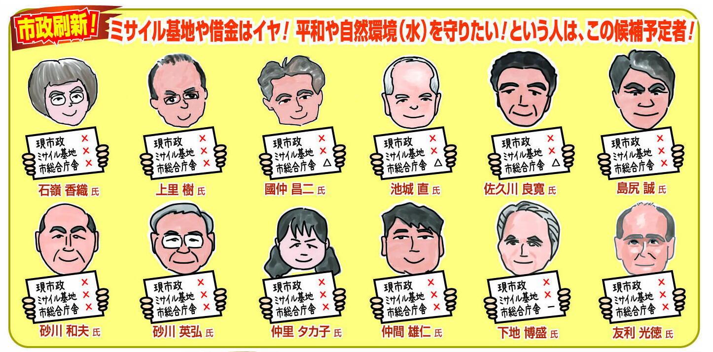 市政刷新候補者01