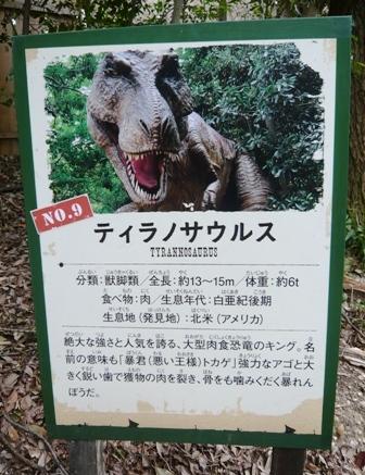 ディノアドベンチャー:9ティラノサウルス1
