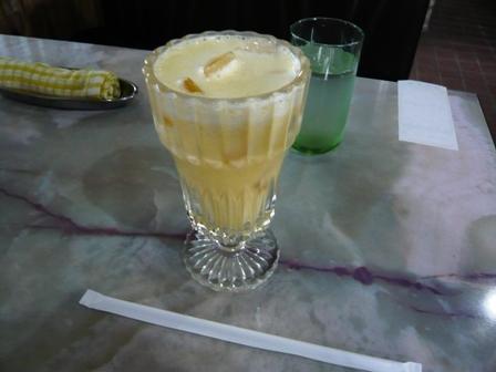 喫茶サボン:ミックスジュース1