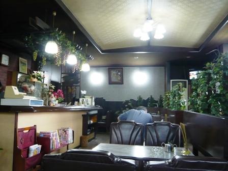 喫茶サボン:店内2
