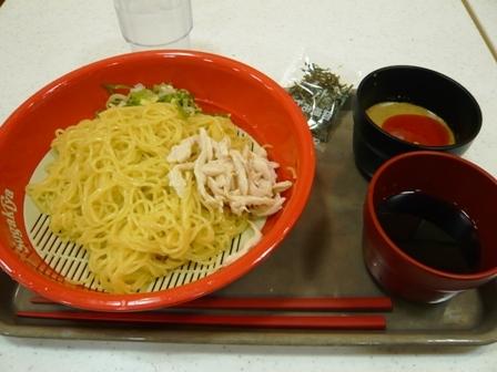 スガキヤ:つけ麺1