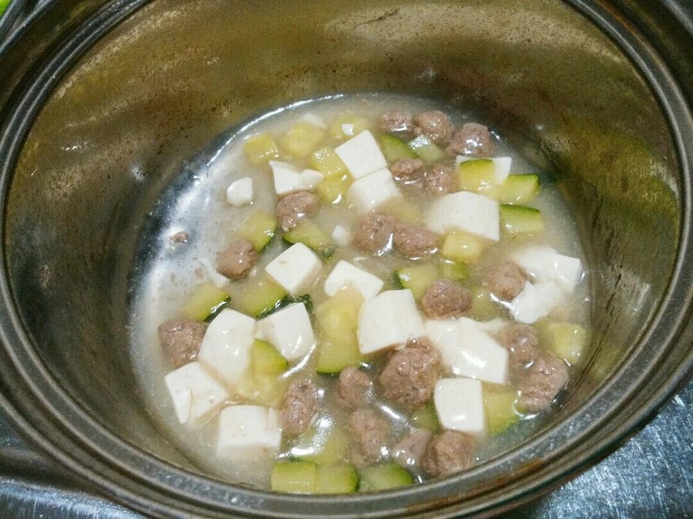 麻婆豆腐風あんかけこ?飯の作り方5