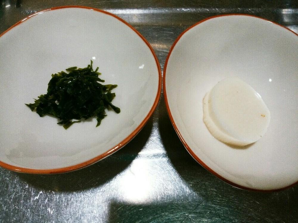とろろのっけスープご飯の作り方1