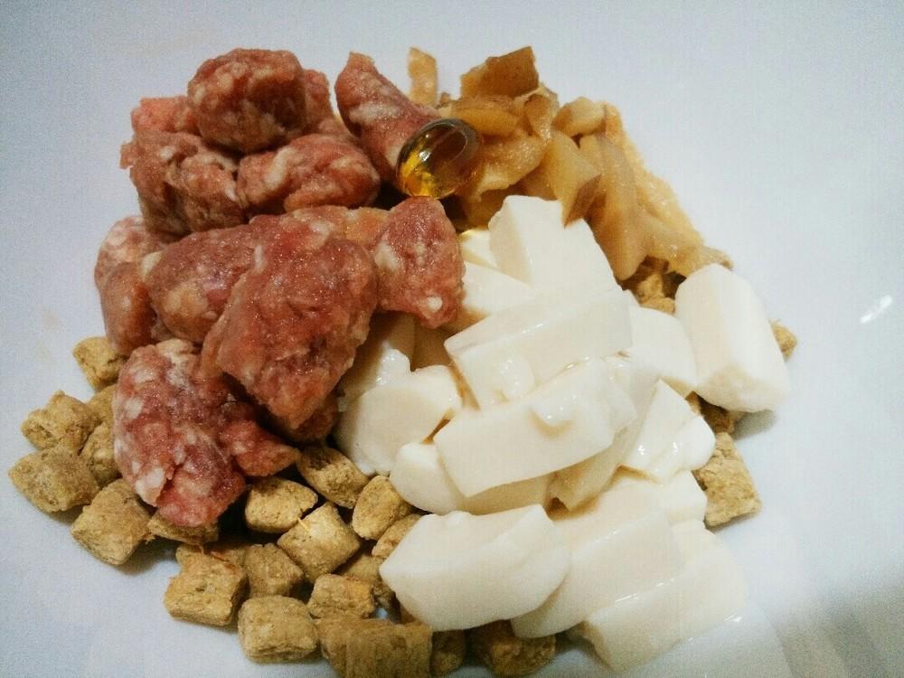ラム肉と豆腐と椎茸のせごはんの作り方5
