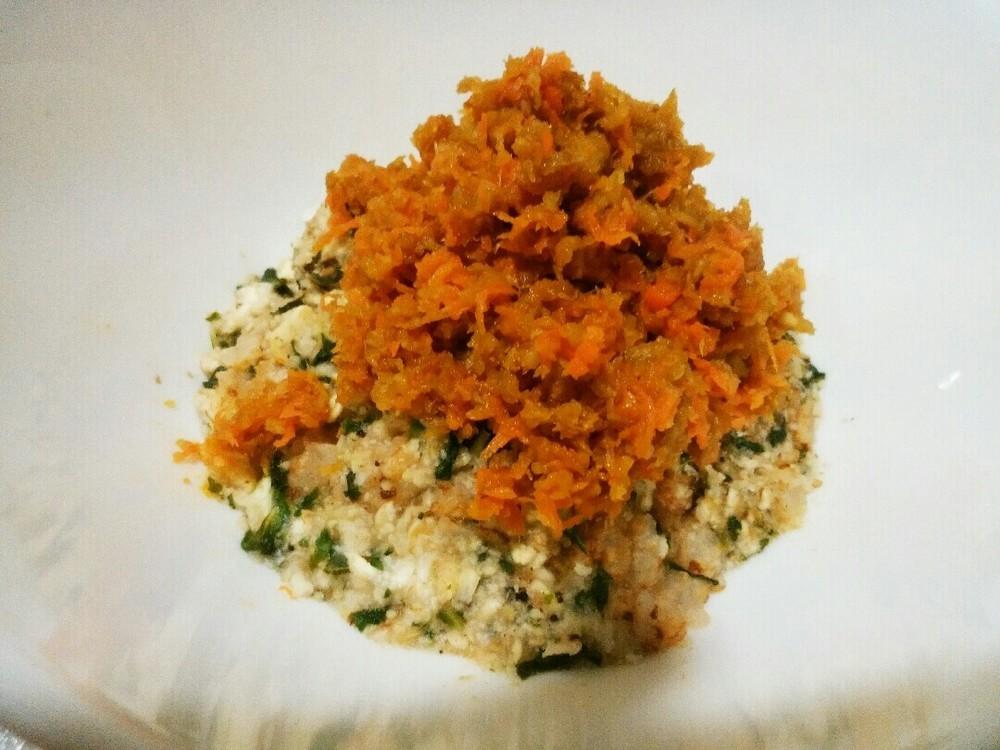 根菜とチキンビッツのせごはんの作り方5