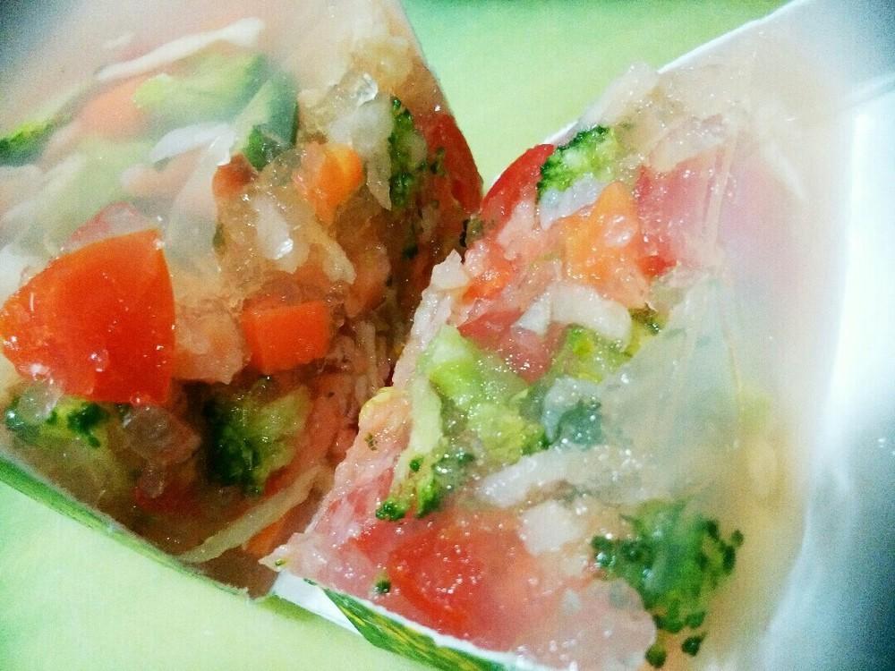 鮭と野菜のゼリー寄せの作り方11