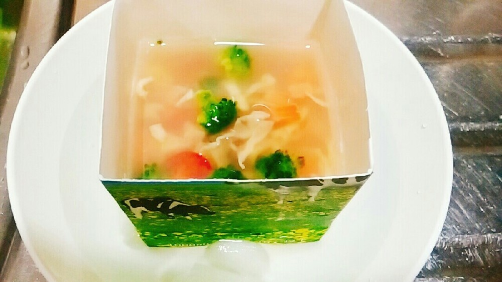 鮭と野菜のゼリー寄せの作り方8