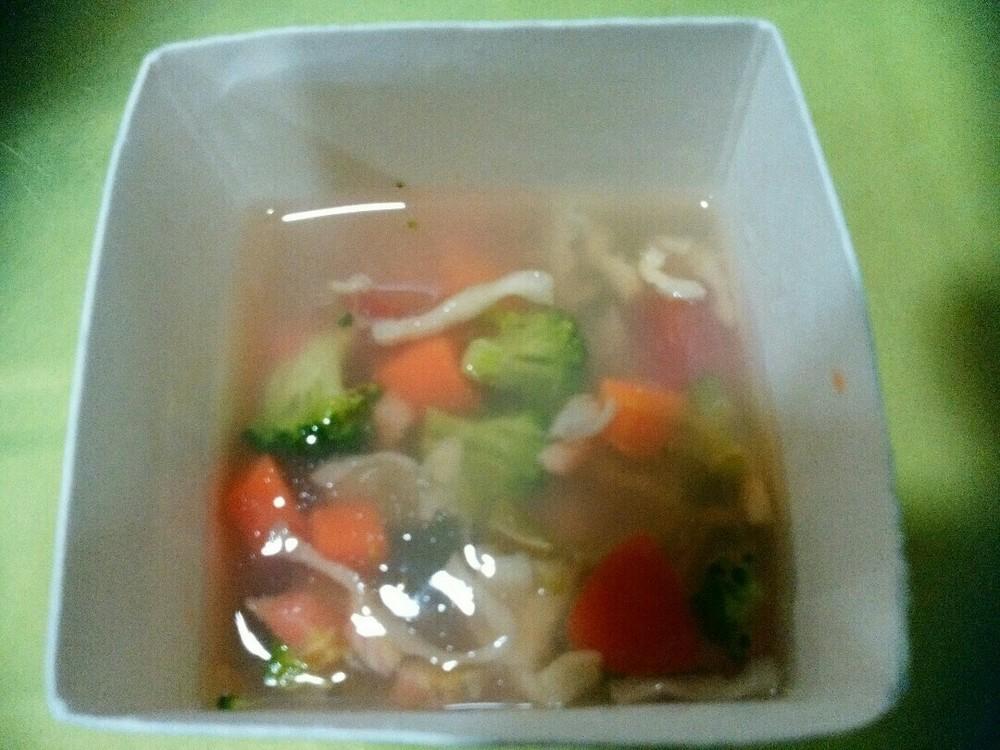 鮭と野菜のゼリー寄せの作り方10