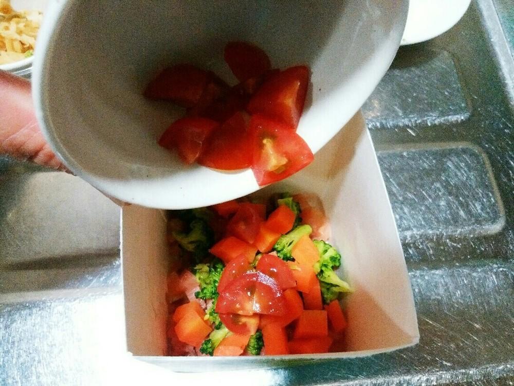 鮭と野菜のゼリー寄せの作り方5