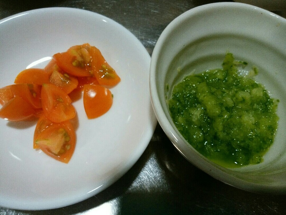 カツオのサラダ風ごはんの作り方3