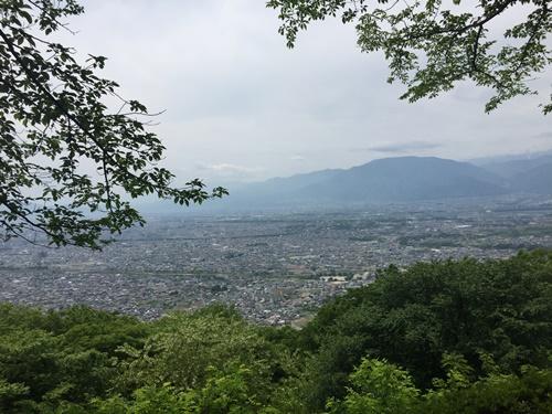 新緑の里山
