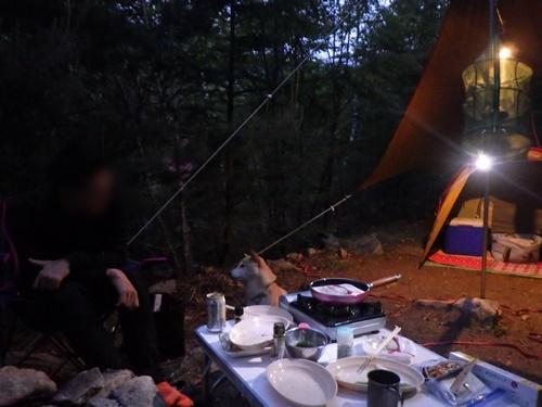 廻り目平キャンプ場一日目32