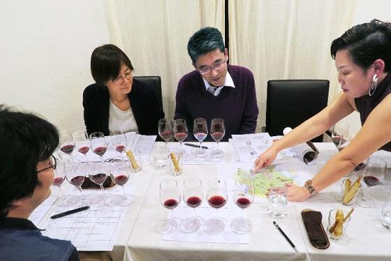 2017年10月大人ワイン_講義の模様2
