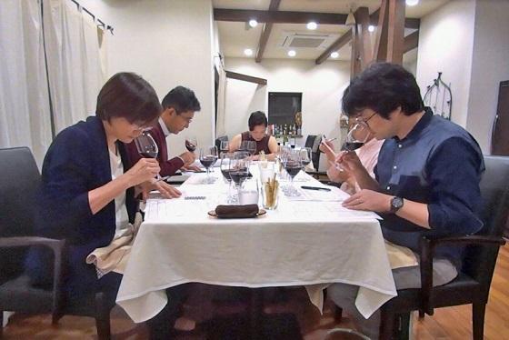 2017年10月大人ワイン_テイスティング
