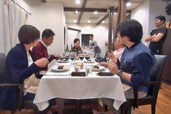 2017年10月大人ワイン_お食事タイム