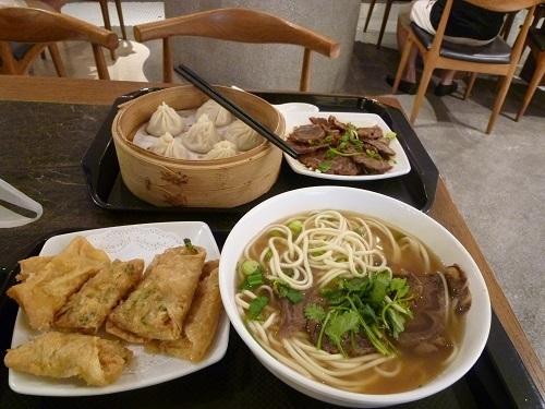 シンガポール初日夕飯